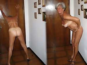 Aroused older prostitutes in ideal shape