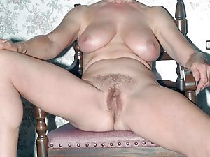 Older gilf enjoying sex