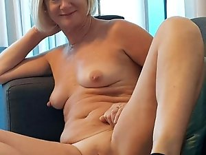 Sexy older mamas get naked